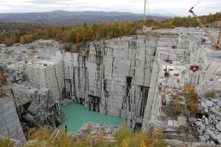 Rock of Ages Quarry Barre VT
