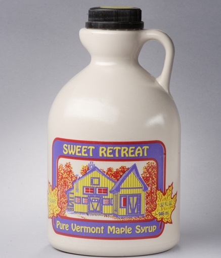 Sweet Retreat Plastic Syrup Jugs